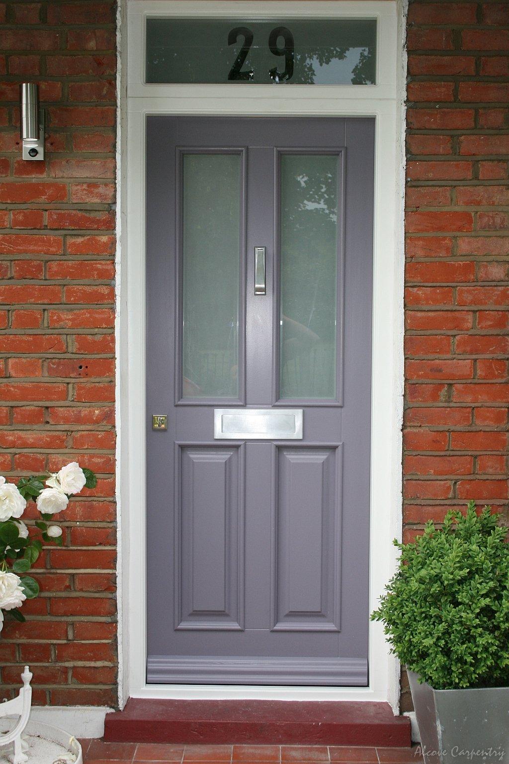 Doors alcove carpentry for Victorian doors