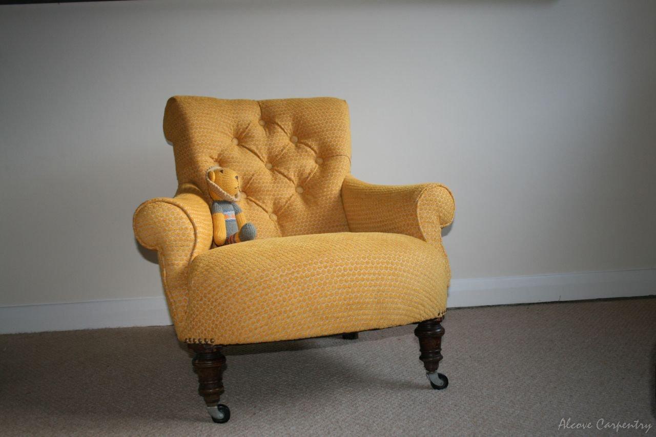 Alcove carpentry interior and custom made furniture for Custom made sofas uk