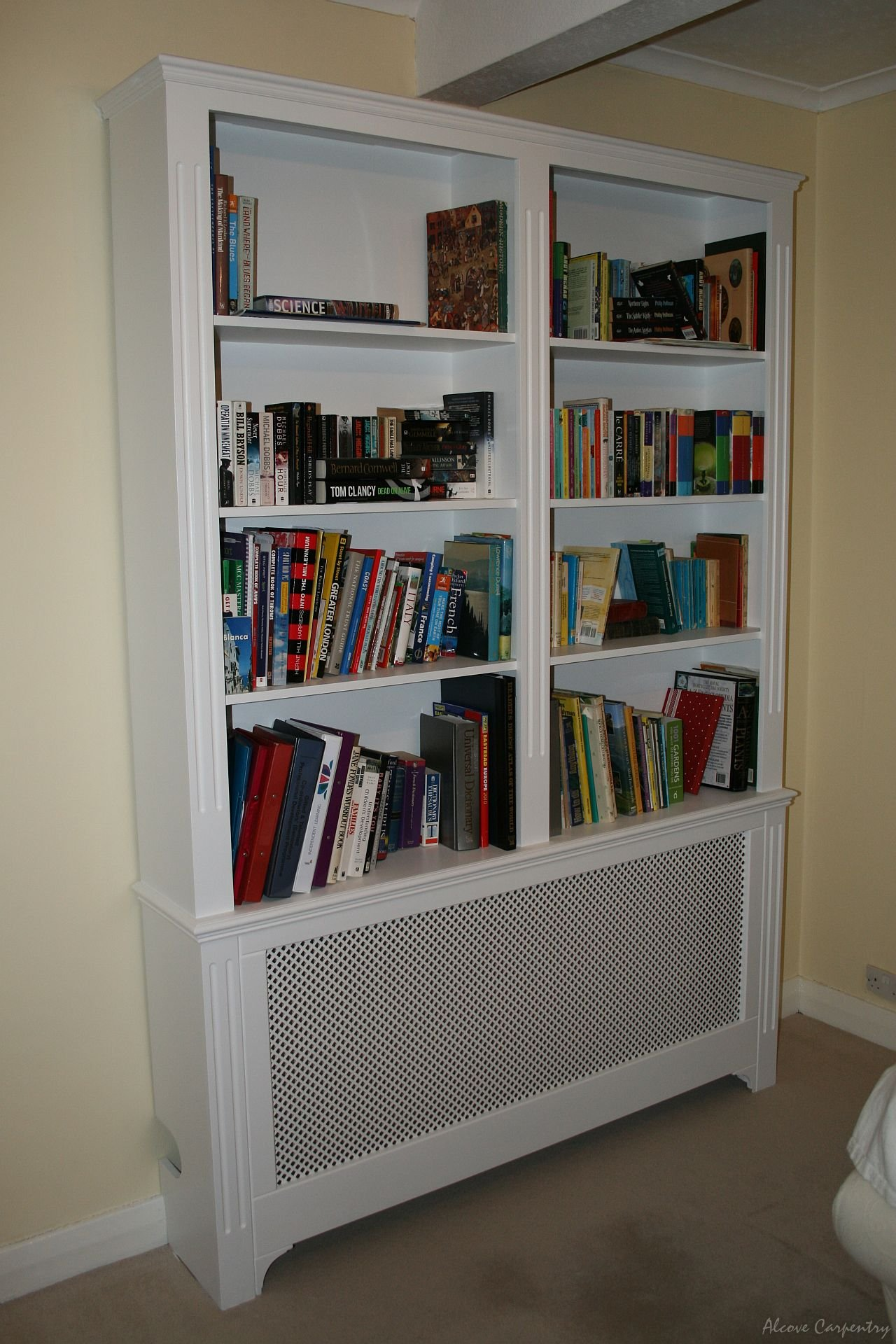 Radiator Cabinets With Bookcase Wwwstkittsvillacom